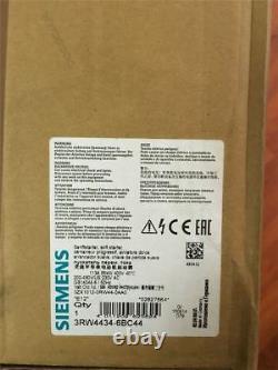 1 Pcs New Siemens 3RW4434-6BC44 Soft Starter gm