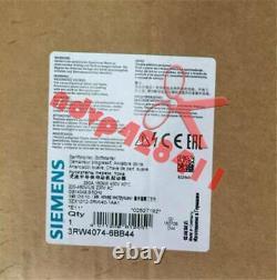 1PCS NEW SIEMENS soft starter 3RW4074-6BB44