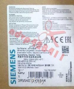 1PCS NEW Siemens Soft Starter 3RW4073-6BB44