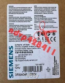 1PCS NEW Siemens soft starter 3RW4046-1BB04