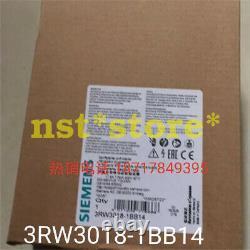 1pcs for brand new Siemens soft starter 3RW3018-1BB14 7.5KW