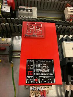 45kw 2.2kw Din rail electric motor soft starter Startmaster 3 phase 3ph