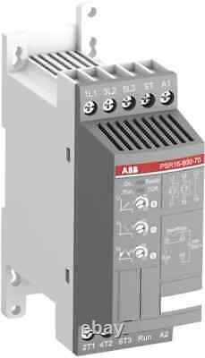ABB Sanftanlasser PSR16-600-70, Softstarter, 7,5KW, 100-240VAC, OVP, 1SFA896107R7000