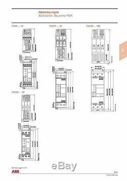 ABB Softstarter Sanftanlauf PSR25-600-70 11kW, Nr. 4036.6306