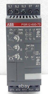 Abb Psr12-600-70 Soft Starter 1sfa896106r7000