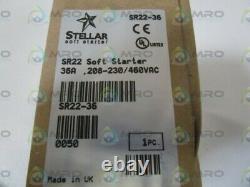Automation Direct/stellar Soft Starter Sr22-36 New In Box