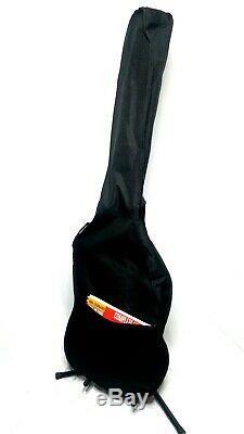 Bass Guitar Starter Kit Davison Bass Hollinger BA-15 Amp Soft Case and Book