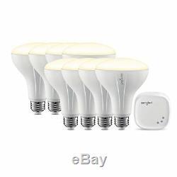 Element Classic by Sengled Starter Kit (8 BR30 Bulbs + hub) Soft White 2700K