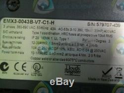 Emerson Emx3-0043b-v7-c1-h Soft Starter New No Box