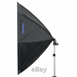 METTLE LED-Studio-Set LED STARTER KIT 300 (8x25 W) Foto Video Leuchte Softbox