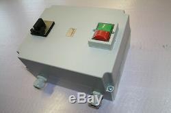 Motorstarter mit Softstarter 4075, bis 7,5KW, + Hauptschalter, Elektromotor