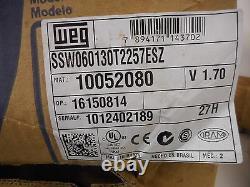 NEW SEALED WEG SSW060130T2257ESZ SSW06 Soft Starter