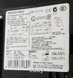 NEW Siemens 3RW4055-6BB35 Soft Starter