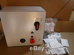 New Abb Enclosed Softstarter E030lb2-48/704m22 480vac 60hz 3ph 30hp 45a Type 12