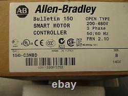 New Allen Bradley 150-c3nbd Smc-flex Soft Start Smart Motor Controller