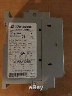 New Allen-bradley 150-c25nbr Soft Starter 25a 200-480v