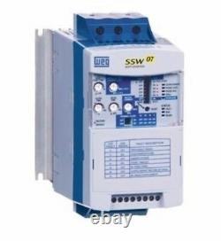 New, Soft Starter, Weg, Ssw070045t5sz, 220-575 Vac Rated, 3 Phase, 45a Rated