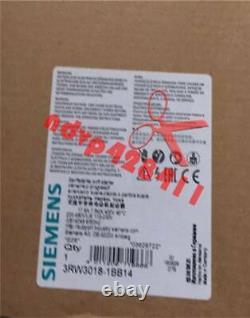 ONE NEW Siemens Soft Starter 3RW 3018-1BB14 3RW3018-1BB14