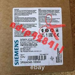 ONE NEW Siemens soft starter 3RW4046-1BB04