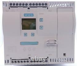Siemens 3NO+1NC 100A 230VAC 30/30/75HP Soft Starter 3RW4434-6BC44