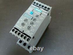 Siemens 3rw4026-1bb04 Softstarter 25.3a 11kw 400v 40 Centigrade