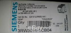 Siemens SIRIUS Sanftstarter 6A 3kW 400V 40°C 3RW3014-1CB04 Softstarter E04