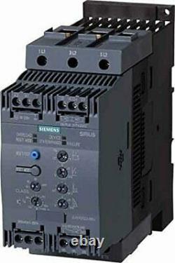 Siemens SIRIUS Soft Starter 3RW40 55 kW 400 V 106 A 3RW4047-1BB14 Neuwertig Händ