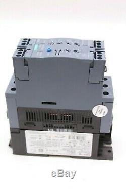 Siemens Sanftstarter 3RW4036-1TB04 Softstarter IP00 600V 50/60Hz Baugr. S2 NEU
