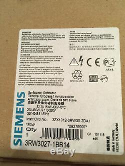 Siemens Sanftstarter Sirius 3RW3027-1BB14 Softstarter 3RW30271BB14 new neu
