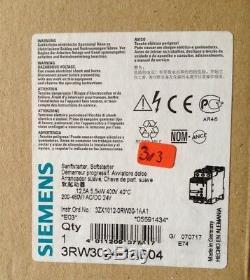 Siemens Sanftstarter Soft-Starter, 5,5KW, 200-460V/AC, 24V/AC/DC, 3RW3024-1AB04, OVP
