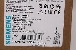 Siemens Sirius Sanftstarter 3RW4037-2BB04 Softstarter 600V, 50/60Hz, IP00 NEU