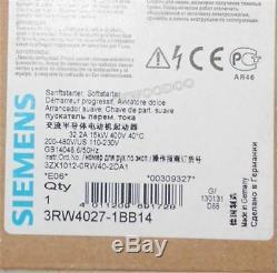 Siemens Sirius Softstarter 3RW4027-1BB14 3RW40271BB14 New gh