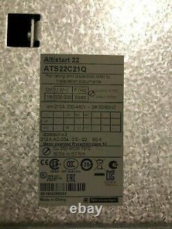 Soft starter ATS 22C21Q
