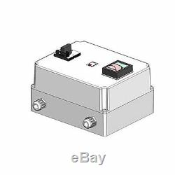 Softstarter 7,5kW mit Überlastschutz und Hauptschalter, Nr. 0098.4075