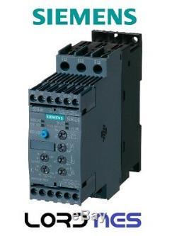 Softstarter Avviatore Motori 400v 18,5kw 24v Ac/dc 3rw40281bb04 Siemens