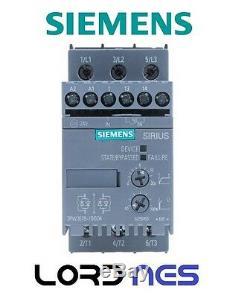 Softstarter Avviatore Motori 400v 22kw 24v Ac/dc 3rw30361bb04 Siemens New