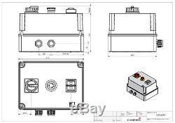 Softstarter PSR 15kW (für normalen Anlauf), Hauptschalter, Not-A, Nr. 0098.4290