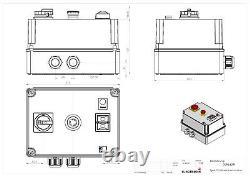 Softstarter PSR 18,5kW (für normalen Anlauf) Hauptschalter, Not-A, Nr. 0098.4291