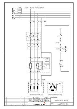 Softstarter Sanftanlauf 3,0 7,5kW S3-400-3,0-7,5, Nr. 8700.0140