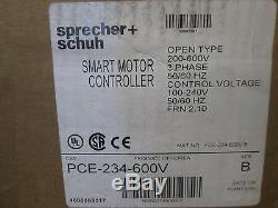 Sprecher + Schuh Pce-234-600v Hydraulic Elevator Softstarter Motor Control New