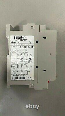 Sprecher & Schuh Pcs-030-600v / Pcs030600v (new Open Box) Soft Starter