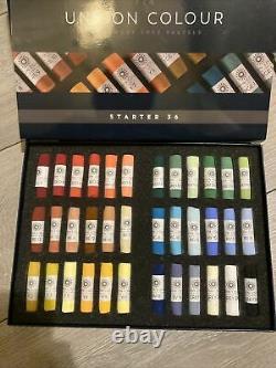 Unison Artist Quality Soft Pastels Starter Set of 36 Colours