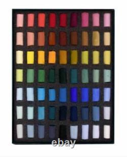 Unison Colour Starter Set 63 Half Stick Soft Pastels Hand Made in the UK