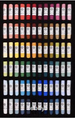 Unison Soft Pastel Starter Set of 72 In Black Presentation Box