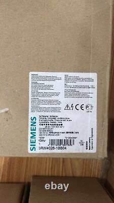 1pc Nouveau 3rw4026-1bb04 Siemens Soft Starter 3rw 4026-1bb04