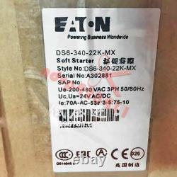 1pc Nouveau Eaton Ds6-340-22k-mx Soft Starter