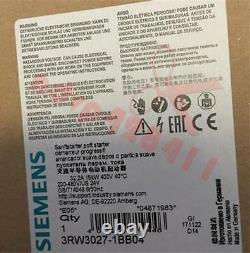 1pcs Nouveau Démarreur Soft Siemens 3rw3027-1bb04