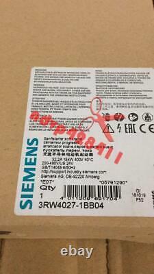 1pcs Nouveau Démarreur Souple Siemens 3rw4027-1bb04