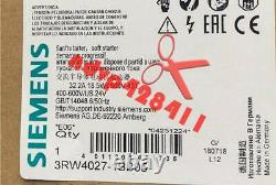 1pcs Nouveau Siemens 3rw4027-1bb05 Soft Starter 3rw 4027-1bb05