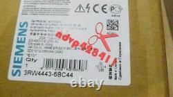 1pcs Nouveau Siemens Soft Starter 3rw4443-6bc44 3rw4 443-6bc44